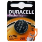Элемент питания CR2016, пр-во Duracell (CR2016 Duracell)